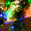 Multicolor 100 LED Battery String Lights with Timer