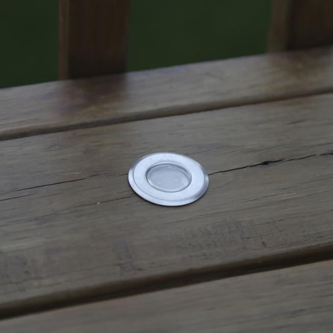Solar solar landscape solar deck lights for Decking spotlights