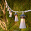 Montauk Lighthouse Expandable Plug-in String Lights, Strand of 10