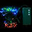 Multicolor 100 LED Connectable Battery String Lights