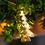 Gold Christmas Tree Battery String Lights, Strand of 10