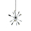 Sputnik 12-Light Chandelier, Chrome