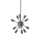 12-Light Pewter Sputnik Chandelier
