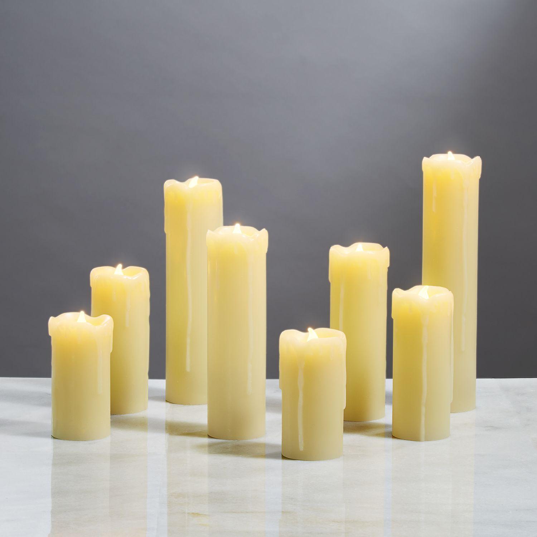Flameless Candles Pillar Candles Leila