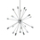 Sputnik 20-Light Chandelier, Chrome