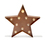 Vintage Metal 10 LED Marquee Star Battery Light with Timer