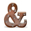 Vintage Metal 12 LED Marquee Ampersand Battery Light with Timer