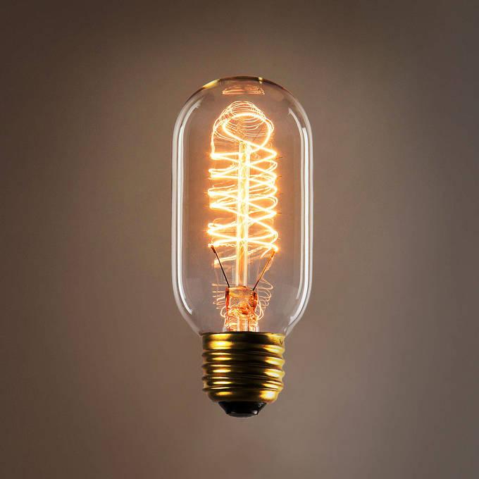 Cordless Edison Bulb Lamp: Kensington T14