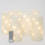 "Twinkling Starlight 8"" Flameless Wax Candle with Remote, Set of 6"