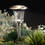 "Heavy Duty Stainless Steel 14"" Warm White LED Solar Path Lights, Set of 4"
