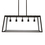 Roebling 5-Light Linear Chandelier