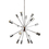 16-Light Chrome Sputnik Chandelier