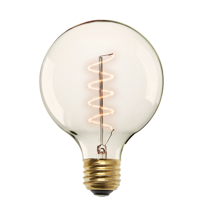 Red Hook G40 Vintage Edison Bulbs, 40W (E26) - Single