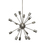 Sputnik 16-Light Chandelier, Pewter