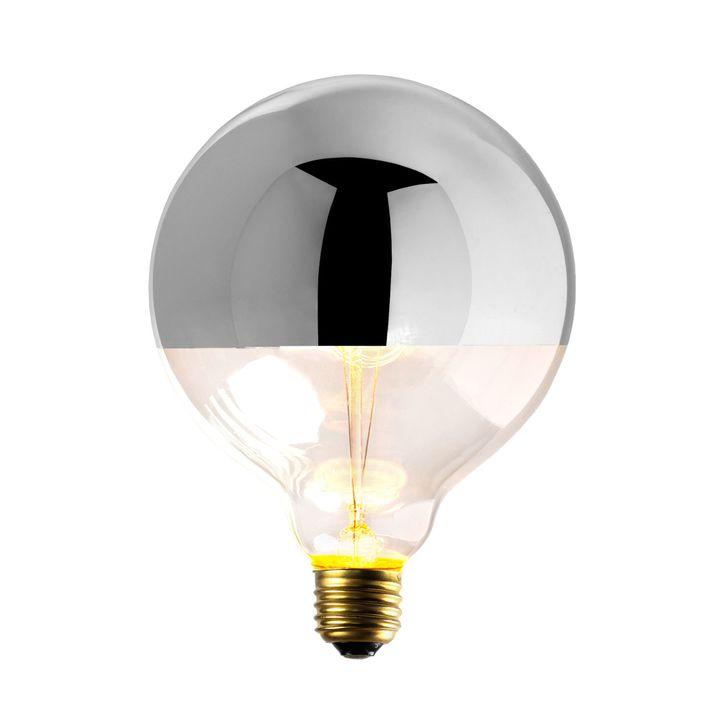 Silver-Tipped G40 Incandescent Bulb, 40W (E26) - Single