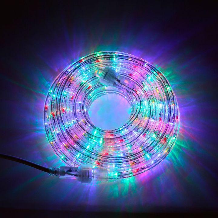 Plasma Multicolor Super Bright LED Rope Lights (24.5 ft.)