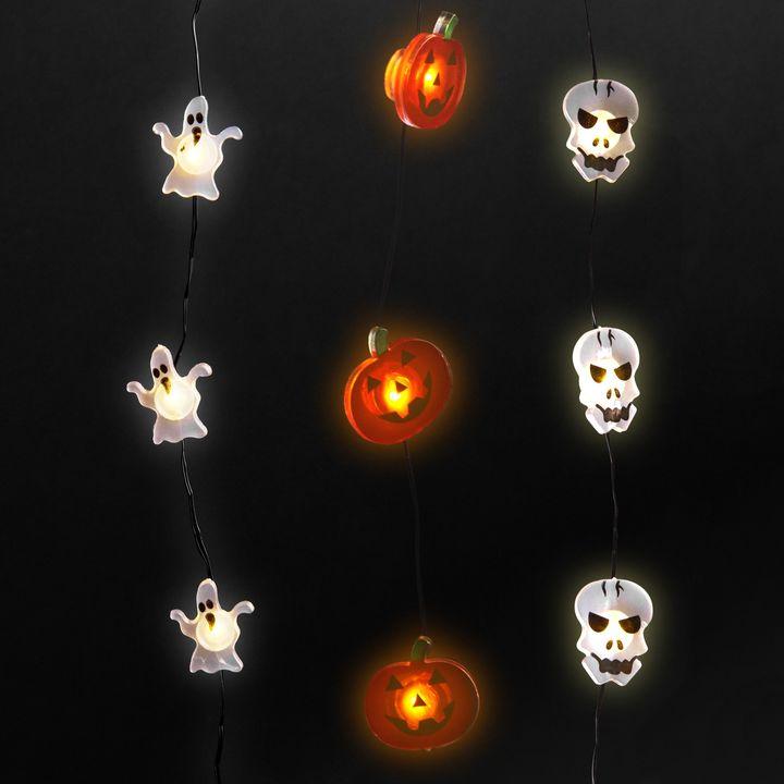 Halloween Fairy Lights, Set of 3
