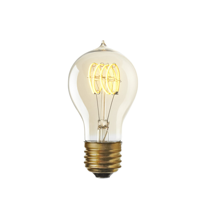 Coney Island LED A19 Vintage Edison Bulbs (E26), Set of 2