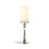 Somerset Silver PIllar Candle Holder, Medium