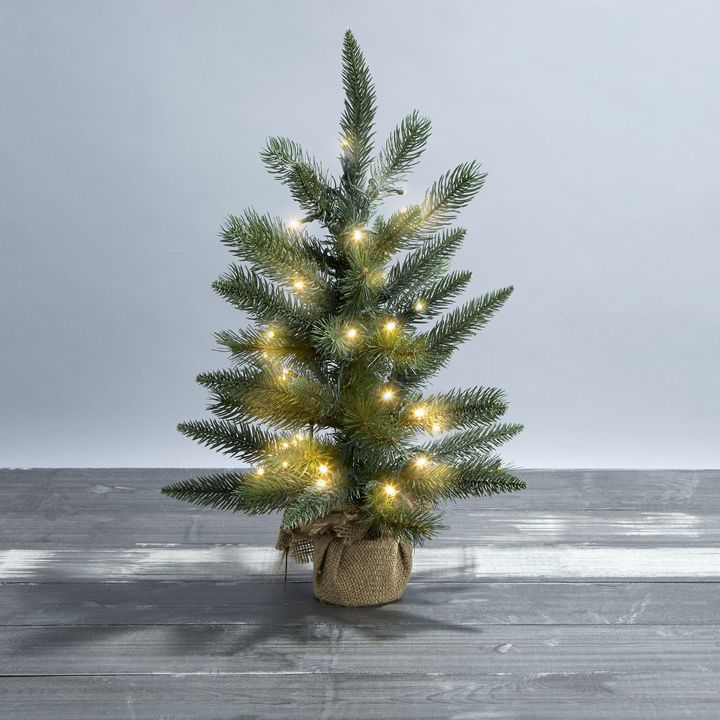 "Telluride Faux Pine Tree, 18"""