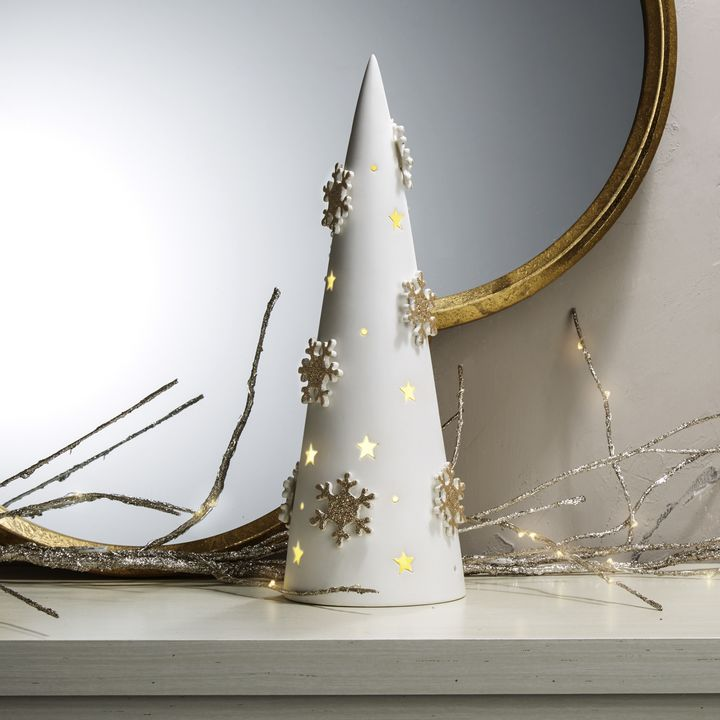 Illuminated Porcelain Tree