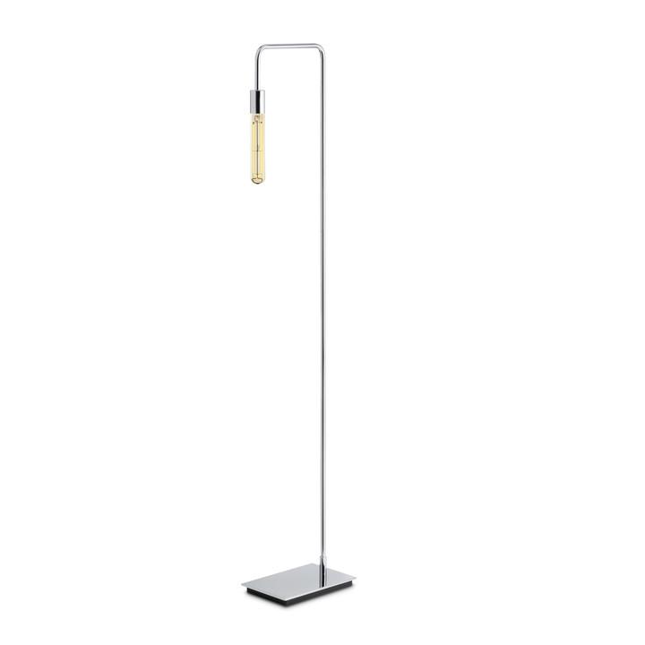 Prospect Floor Lamp, Chrome