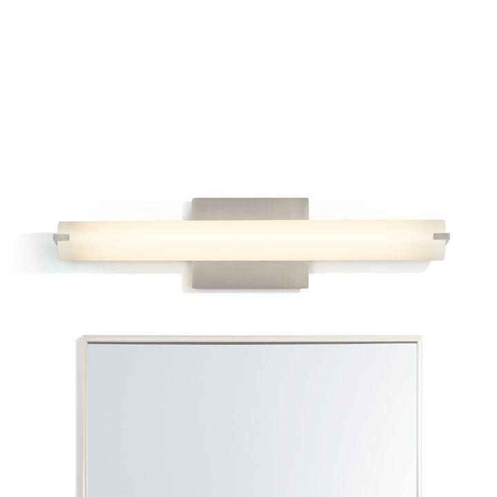 """Atlas 24"""" LED Vanity Light, Satin Nickel"""