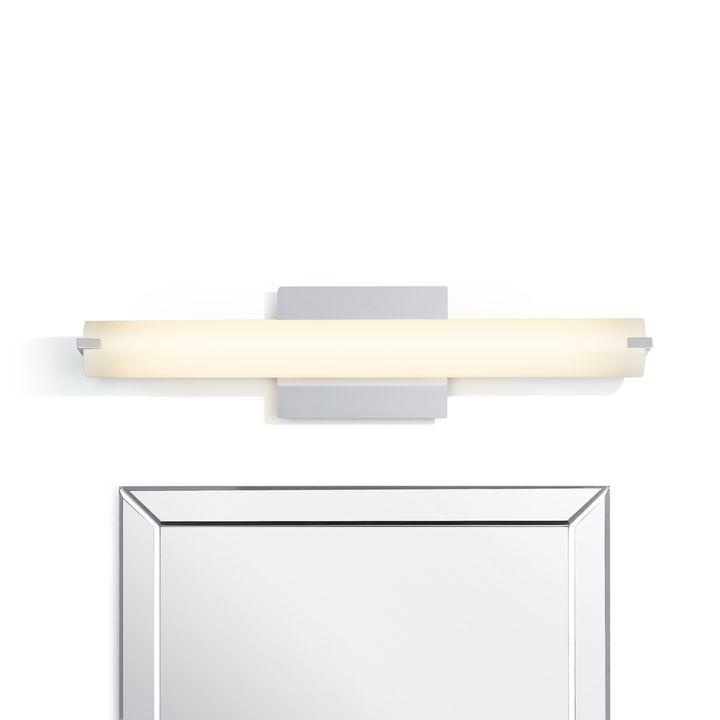 """Atlas 24"""" LED Vanity Light, Chrome"""