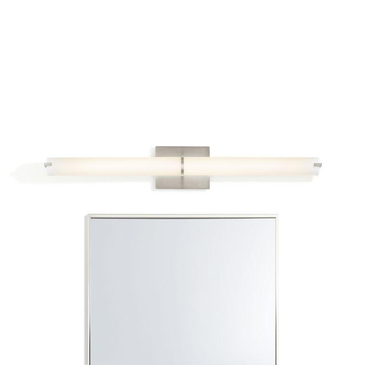 """Atlas 35.5"""" LED Vanity Light, Satin Nickel"""