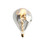 Metropolitan Smoke-Glass LED Vintage Edison Bulb (E26), Single