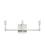 Kingston 3-Light Vanity, Satin Nickel