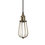Alton Pendant with Edison Raindrop Cage, Bronze