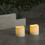 """Idlewild Outdoor 3""""x3"""" Candles, Set of 2"""