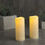 """Idlewild Outdoor 3""""x7"""" Candles, Set of 2"""
