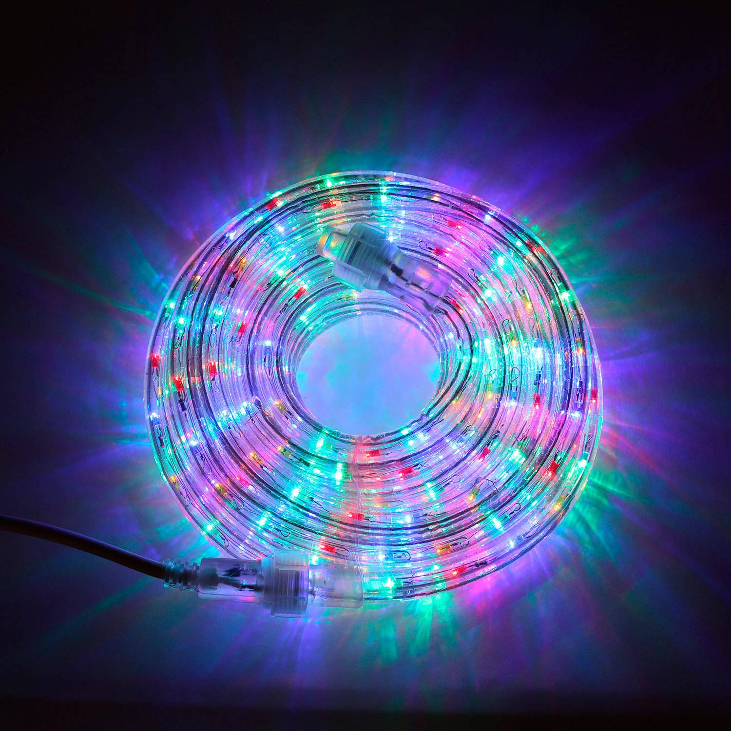 Lights.com String Lights Rope Lights Plasma Multicolor Super Bright LED Rope Lights