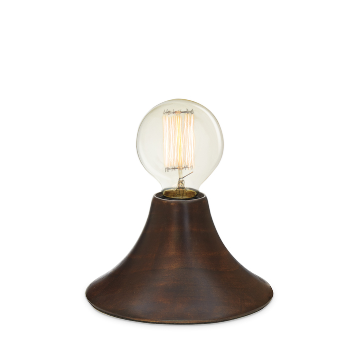 Beacon Accent Lamp, Mahogany