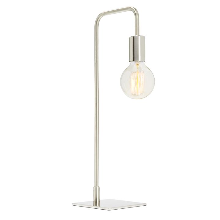 Prospect Table Lamp, Satin Nickel ...