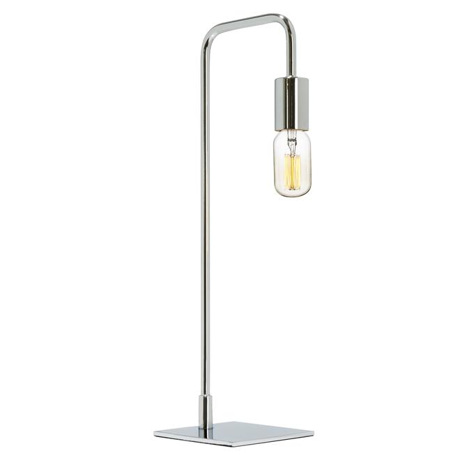 Hoyt Table Lamp, Chrome