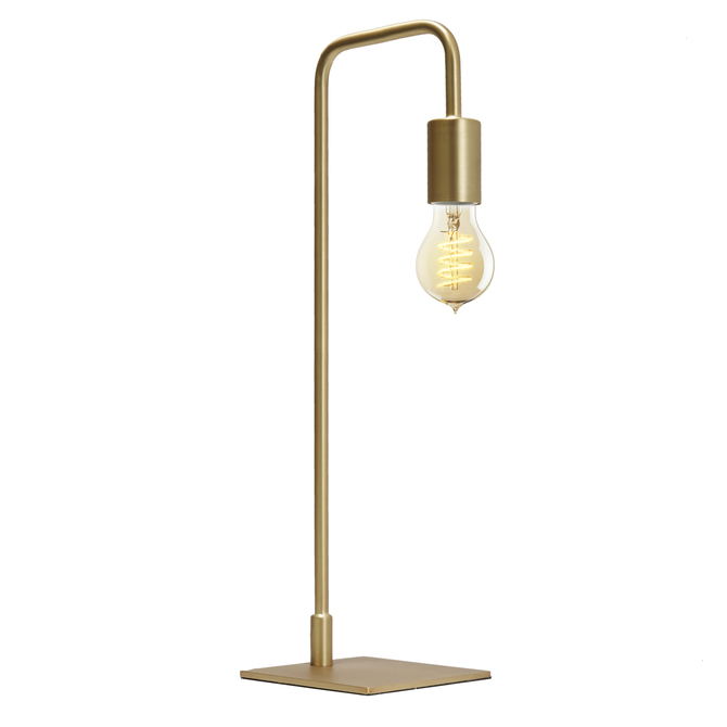 Prospect Table Lamp, Aged Brass