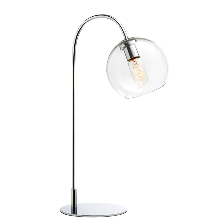 Lights lamps table lamps celeste table lamp with clear celeste table lamp with clear globe chrome aloadofball Choice Image