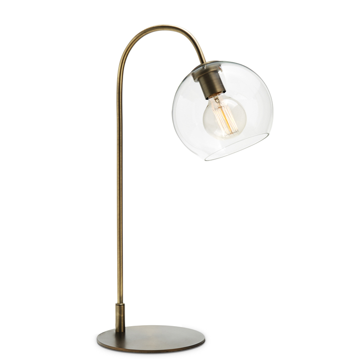 Lights lamps table lamps celeste table lamp with clear celeste table lamp with clear globe bronze aloadofball Choice Image