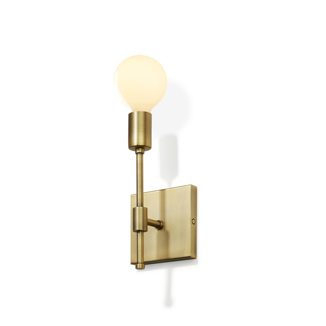 Lights wall lights wall sconces prospect wall sconce aged prospect wall sconce aged brass aloadofball Images