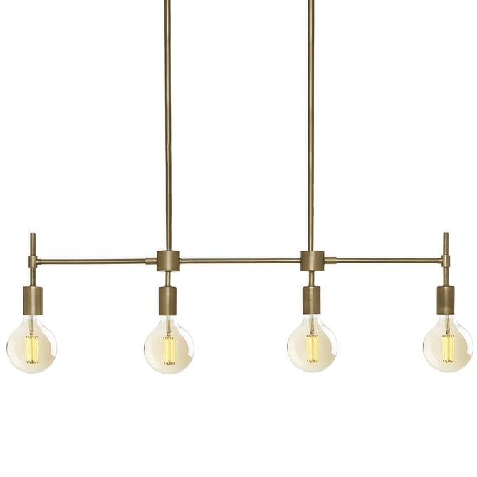 Lights ceiling pendant lighting prospect 4 light linear prospect 4 light linear pendant aged brass aloadofball Images